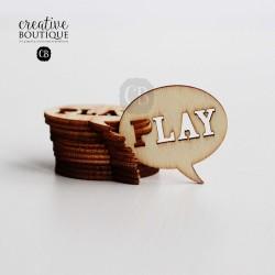 DREWNIANY DYMEK - PLAY