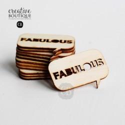 DREWNIANY DYMEK - FABULOUS